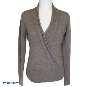 Women's The Cashmere Project wrap style sweater